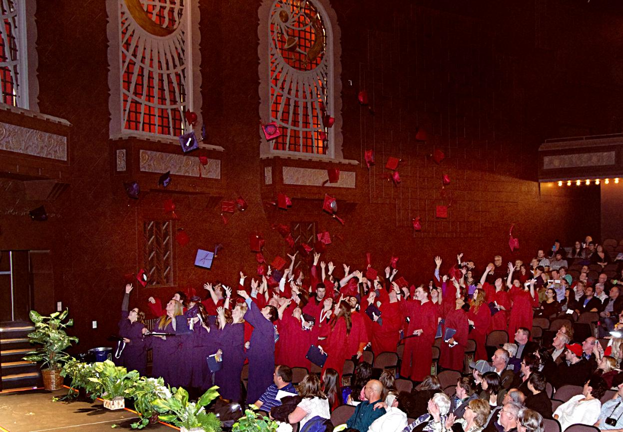 Modern College Graduation